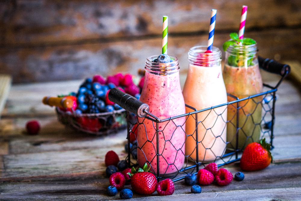 vegan smoothie paper straws