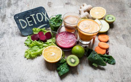 detoxifying vegan food