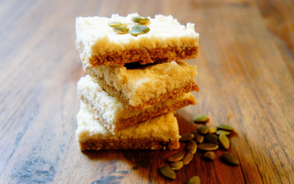 Ginger Coconut Slice