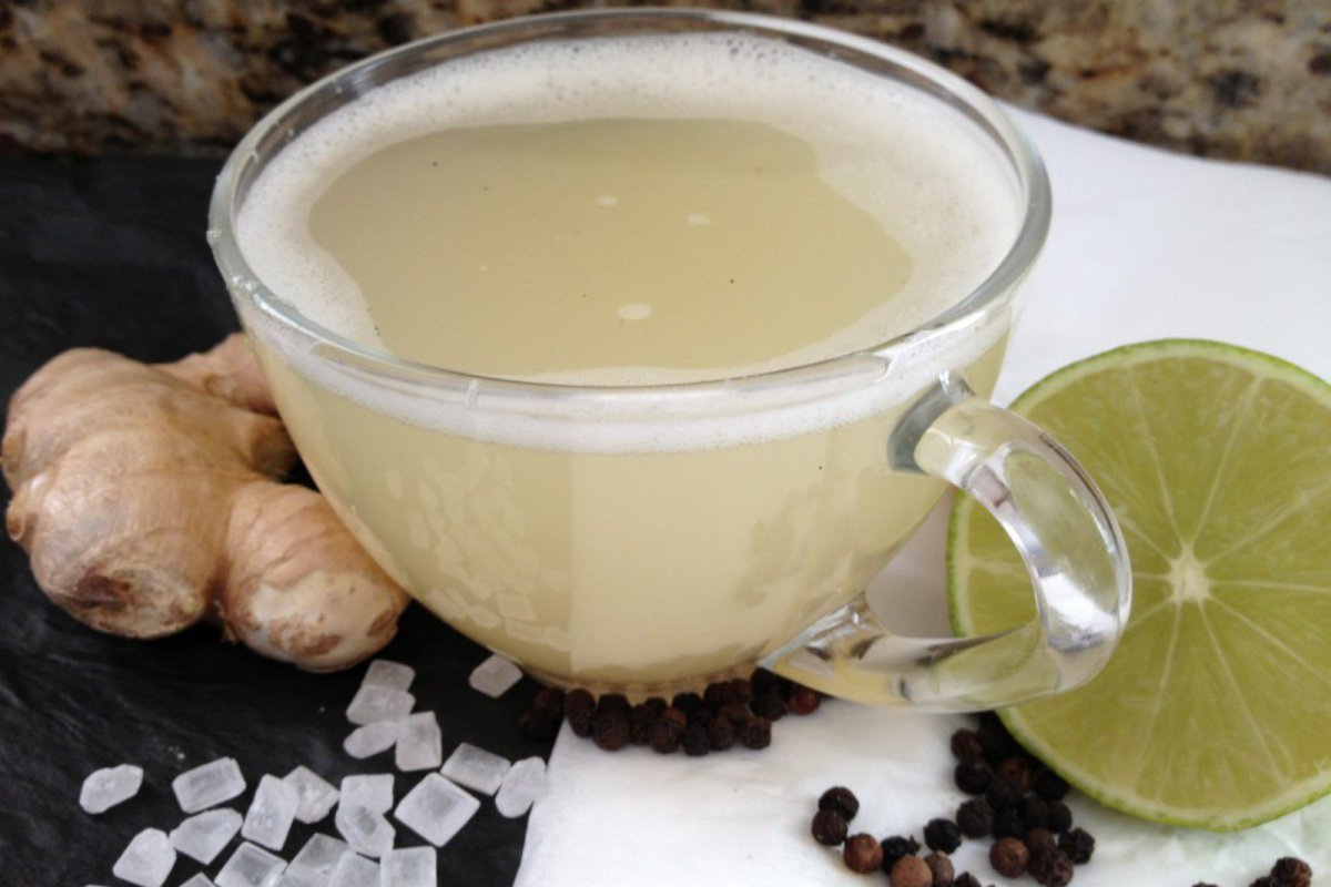 Ginger Elixir: An Ayurvedic Digestive Drink