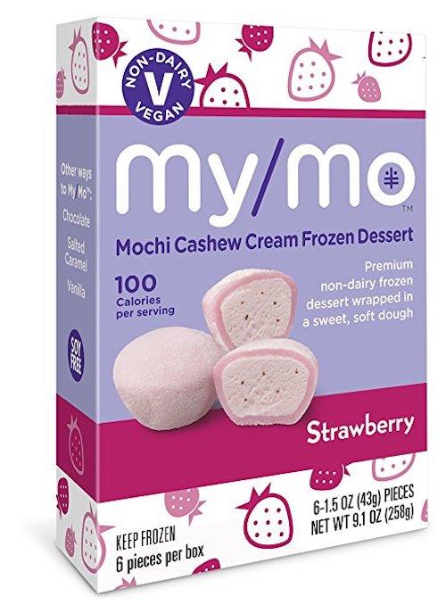 My/Mo Strawberry Mochi Cashew Cream Frozen Dessert