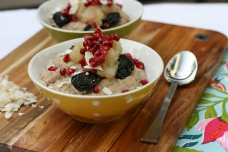Pomegranate Quinoa Porridge