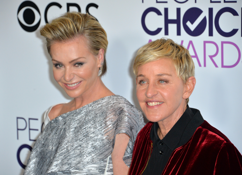 ellen degeneres and portia