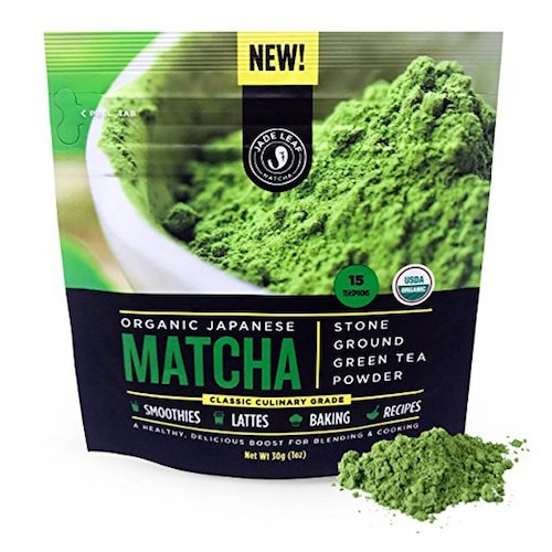 green tea matcha vegan powder