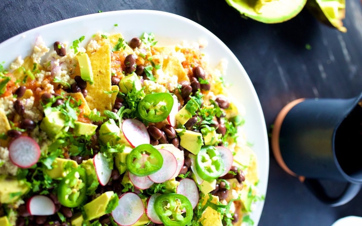 spicy Loaded Nachos