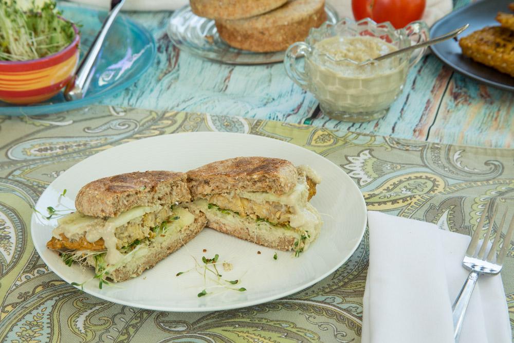 Tempeh Cubano Sandwich