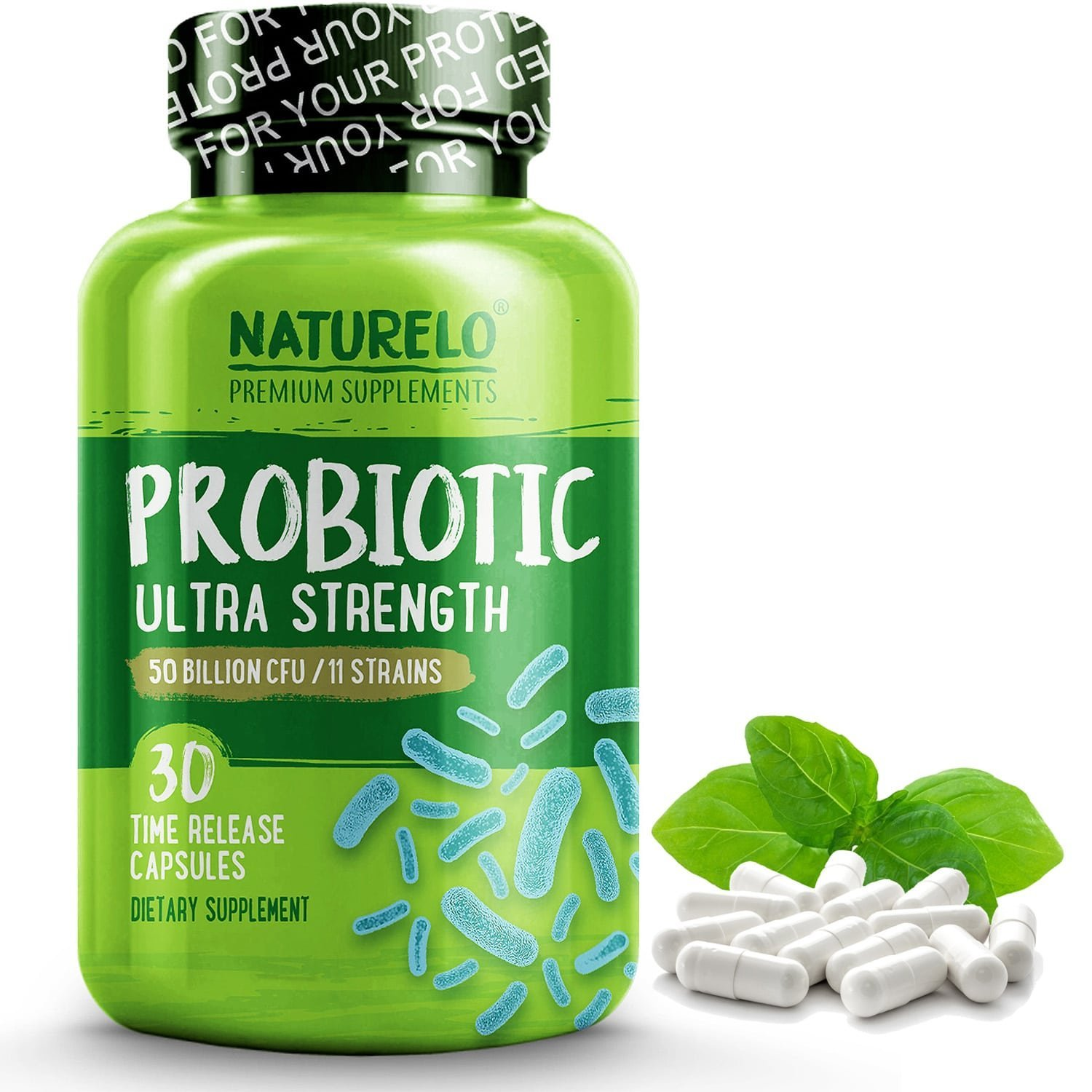 with 50 Billion Active Cultures ★ One Daily ★ Promotes Growth of Healthy Gut Bacteria ★ Helps Relieve Digestive Discomfort★ Boosts Immune System Function ★ No Refrigeration Required ★ Non-GMO ★ Gluten Free ★ Soy Free ★ Yeast Free ★ Dairy Free ★ 100% Natural ★ Vegan ★ Vegetarian ★ Made in USA