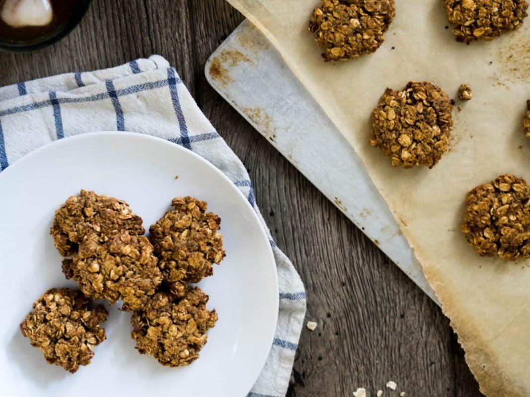 Almond Lemon Poppy Breakfast Cookies