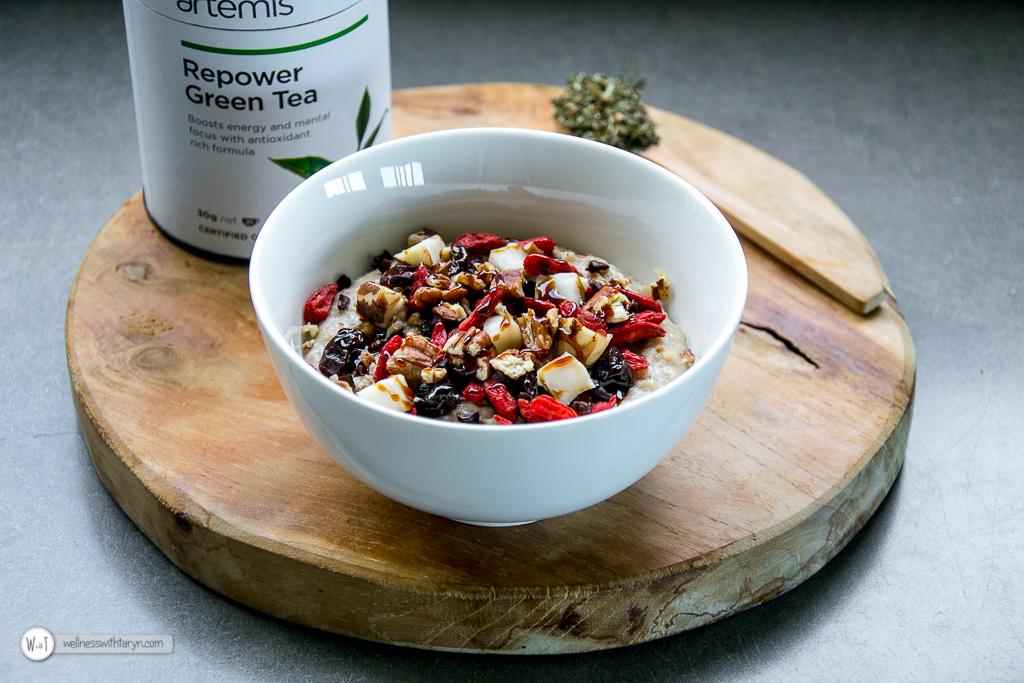 Antioxidant Green Tea Porridge