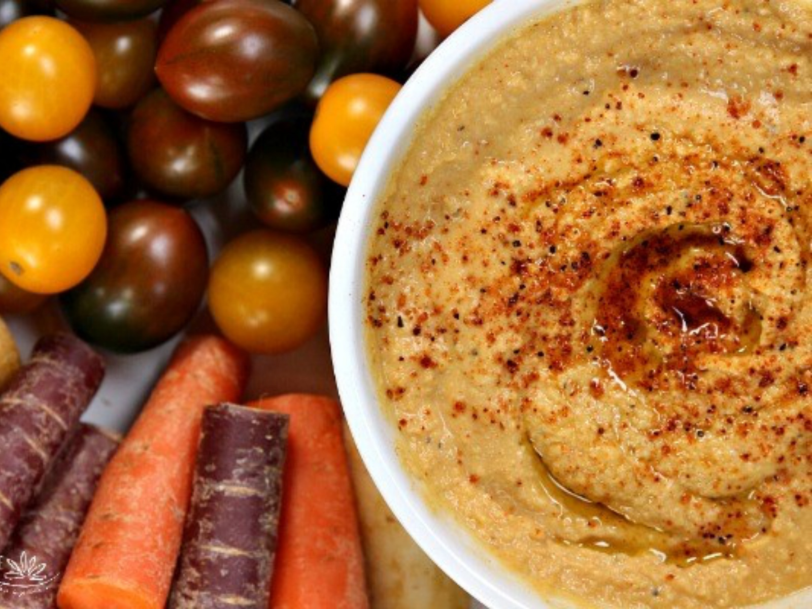 Chipotle and Pumpkin Spiced Hummus