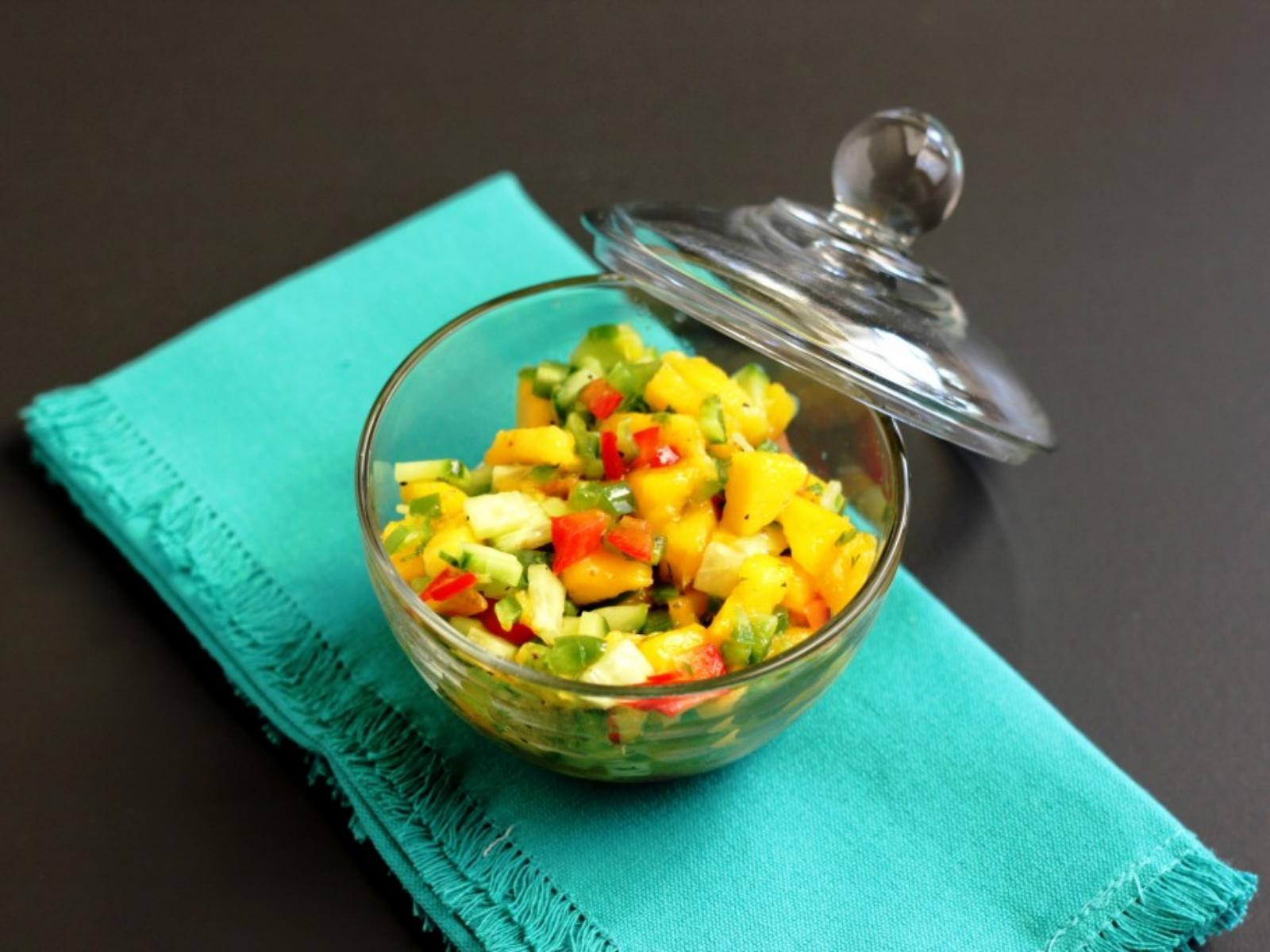 Mango Cucumber Relish