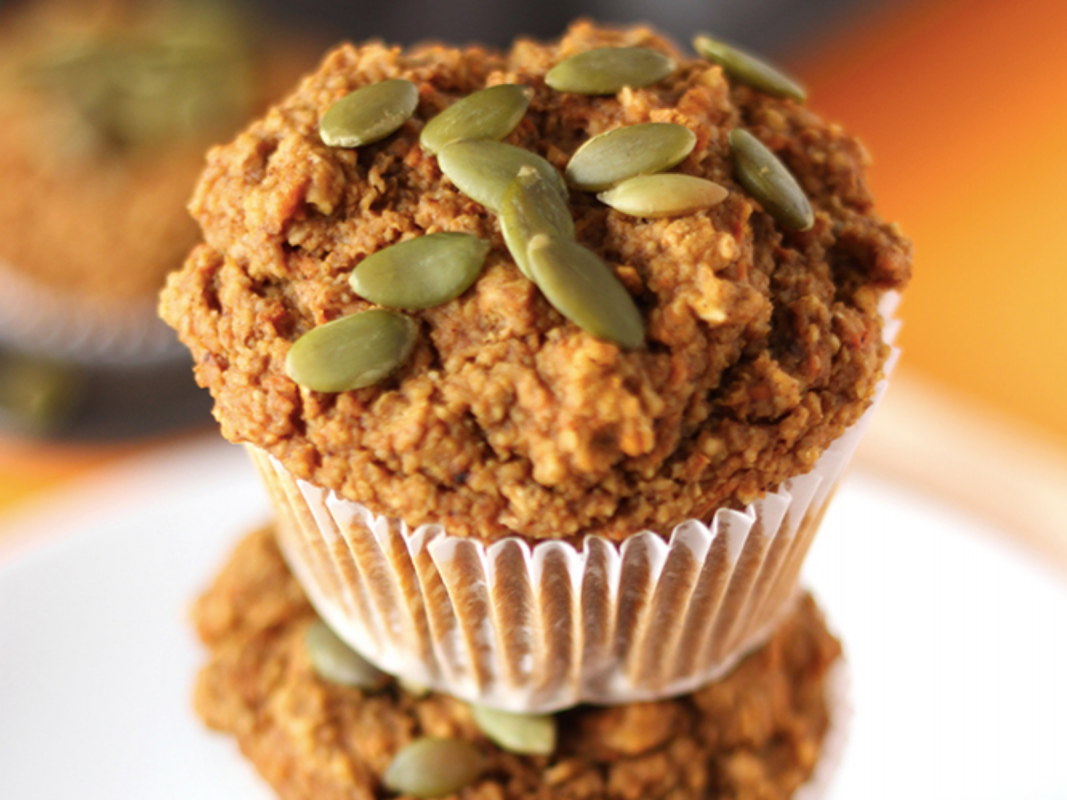 Easy Pumpkin Carrot Muffins