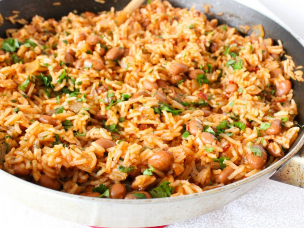 Spicy Chipotle Rice and Beans