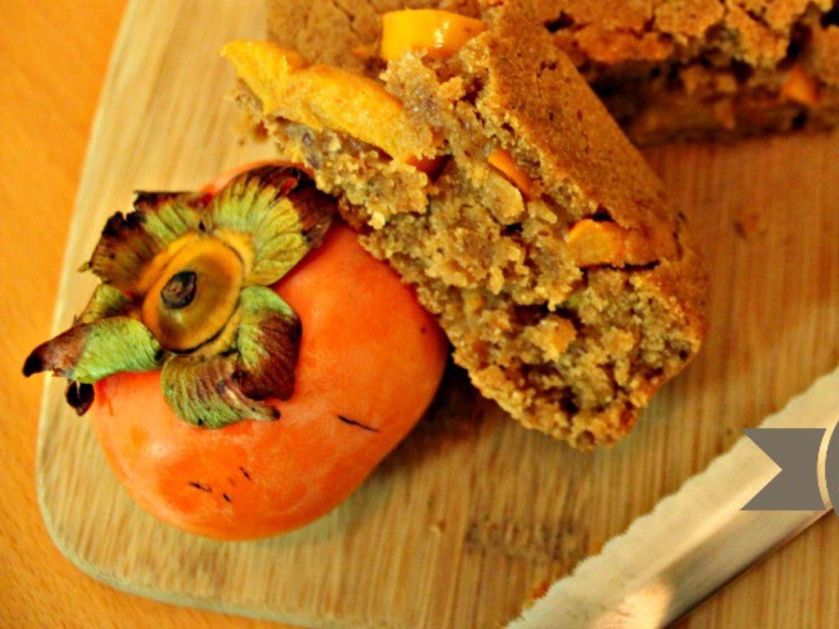 Zesty Persimmon Bread