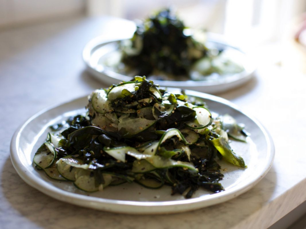 Cucumber Seaweed Salad