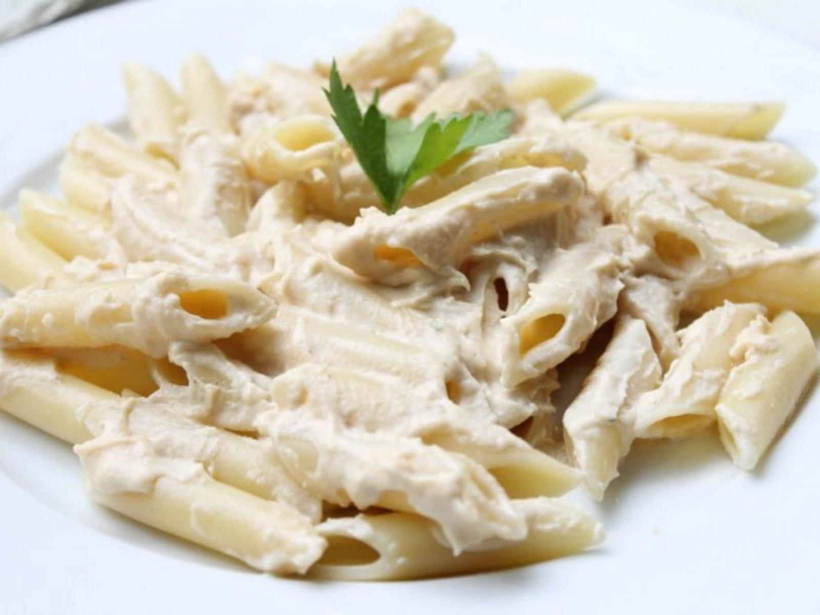 Cashew Alfredo Pasta Sauce