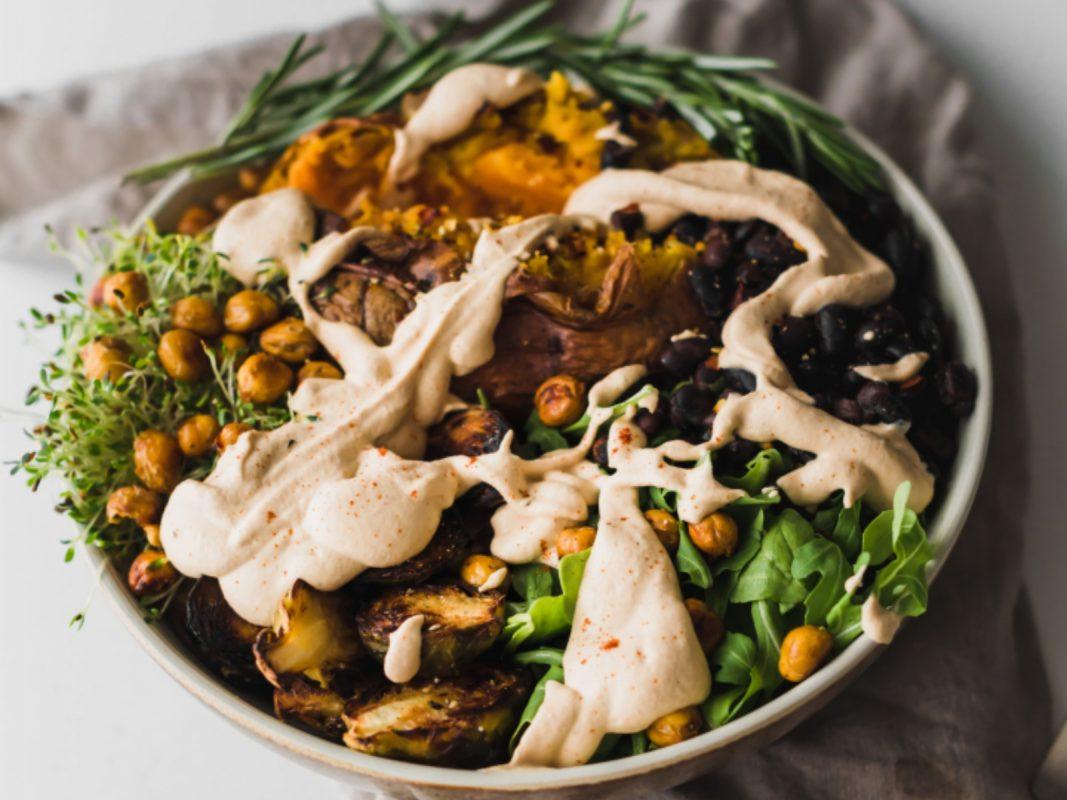 Vegan Chipotle Green High-Protein Bowl