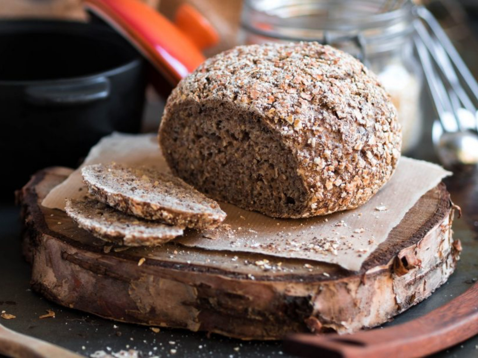 Gluten-Free High Fiber Bread