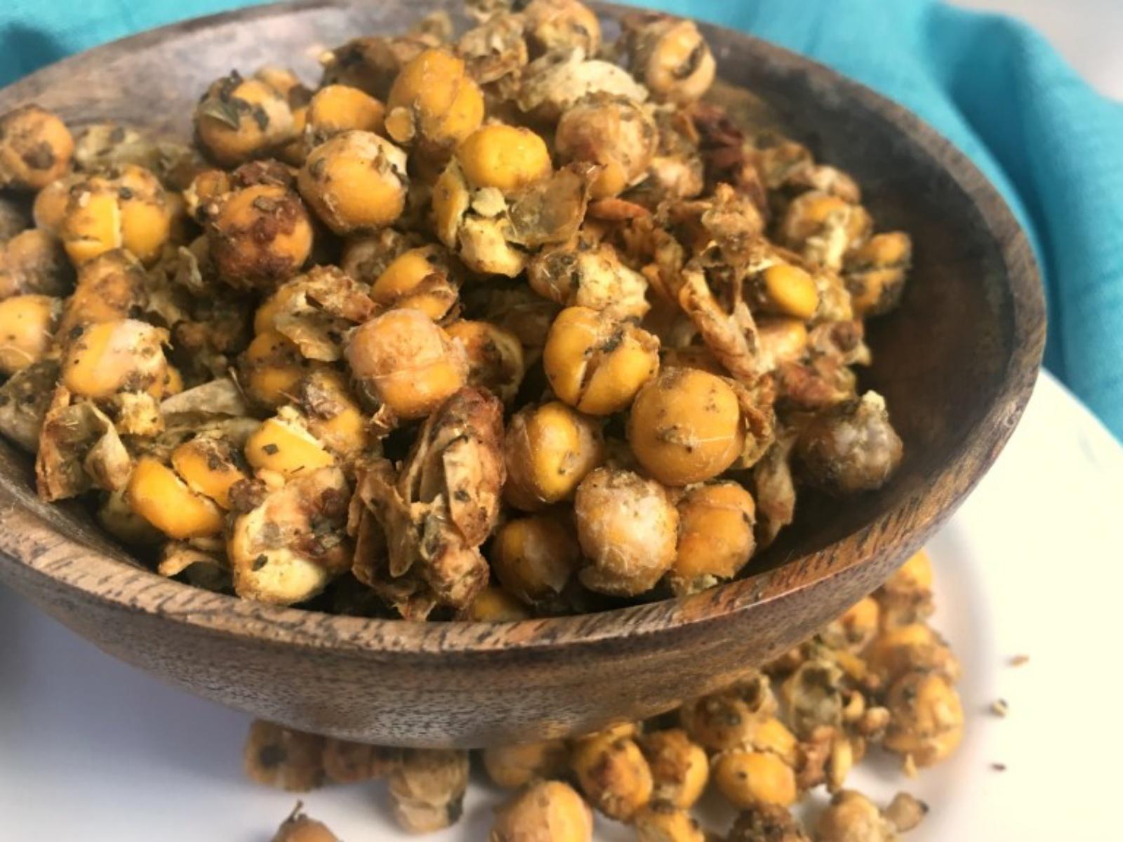 Herb Roasted Chickpeas