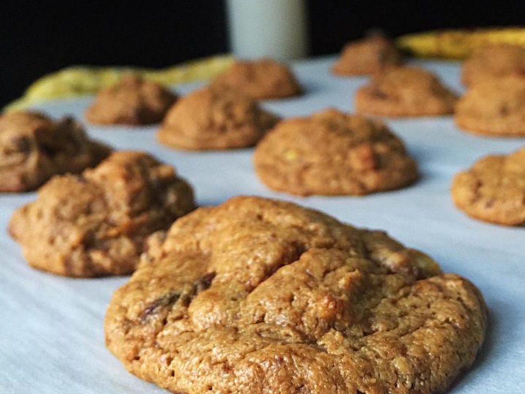 Vegan Elvis Peanut Butter Cookies