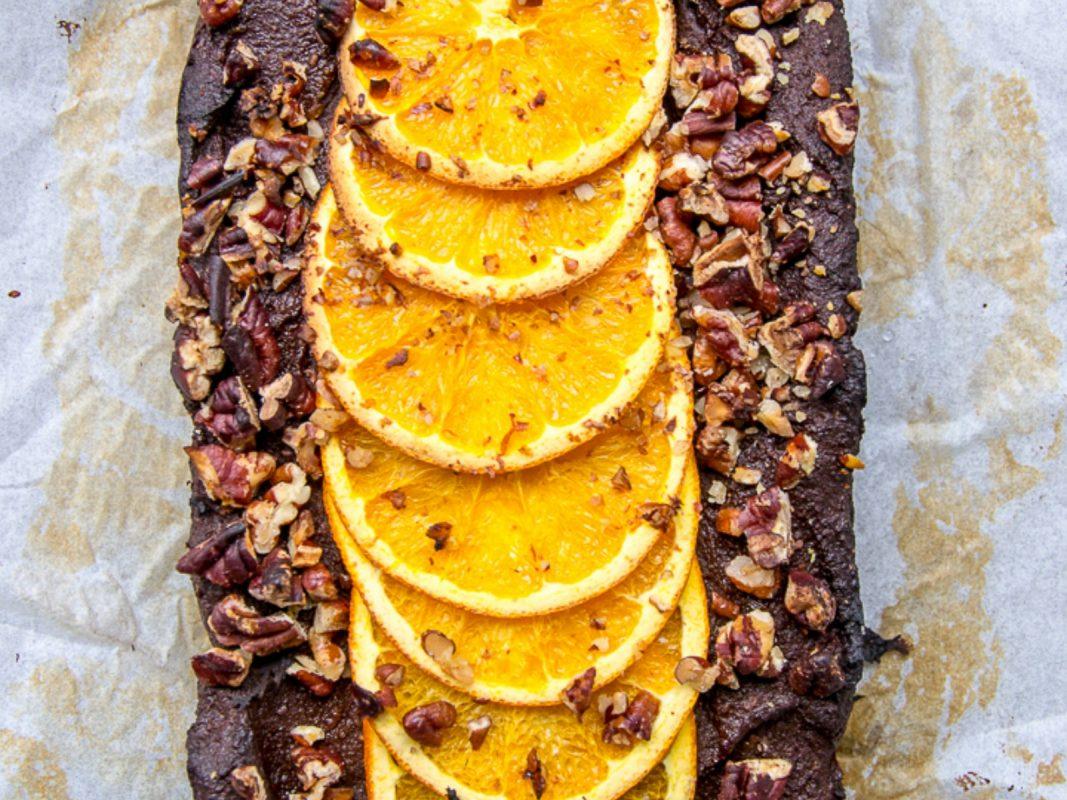 Dark Chocolate and Orange Pecan Loaf
