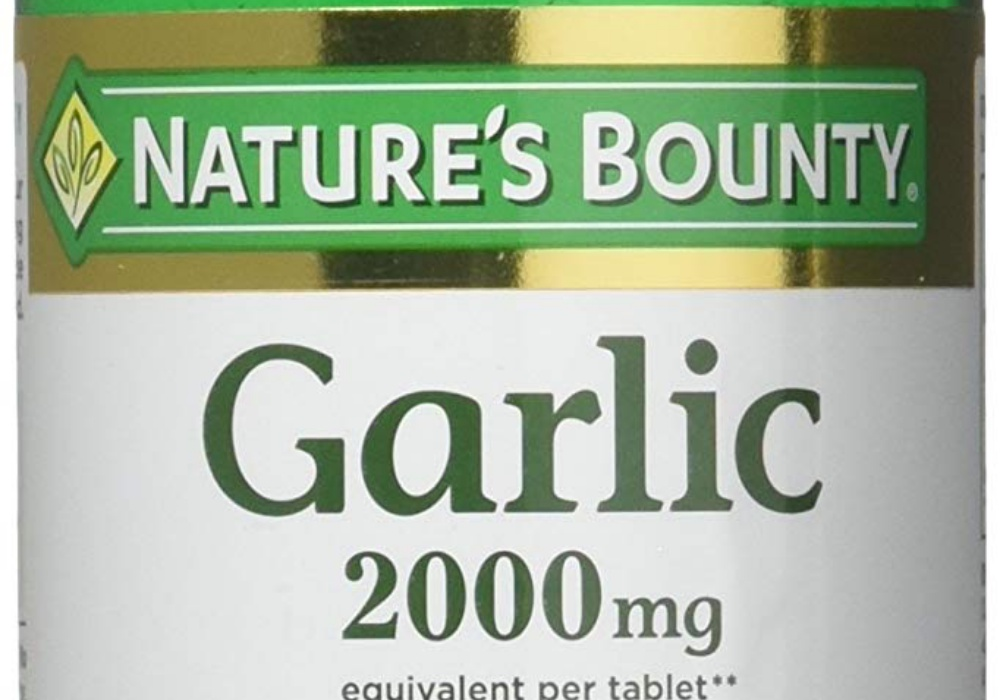 Nature's Bounty Garlic Supplements