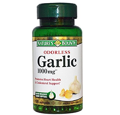 Nature's Bounty Odorless Garlic