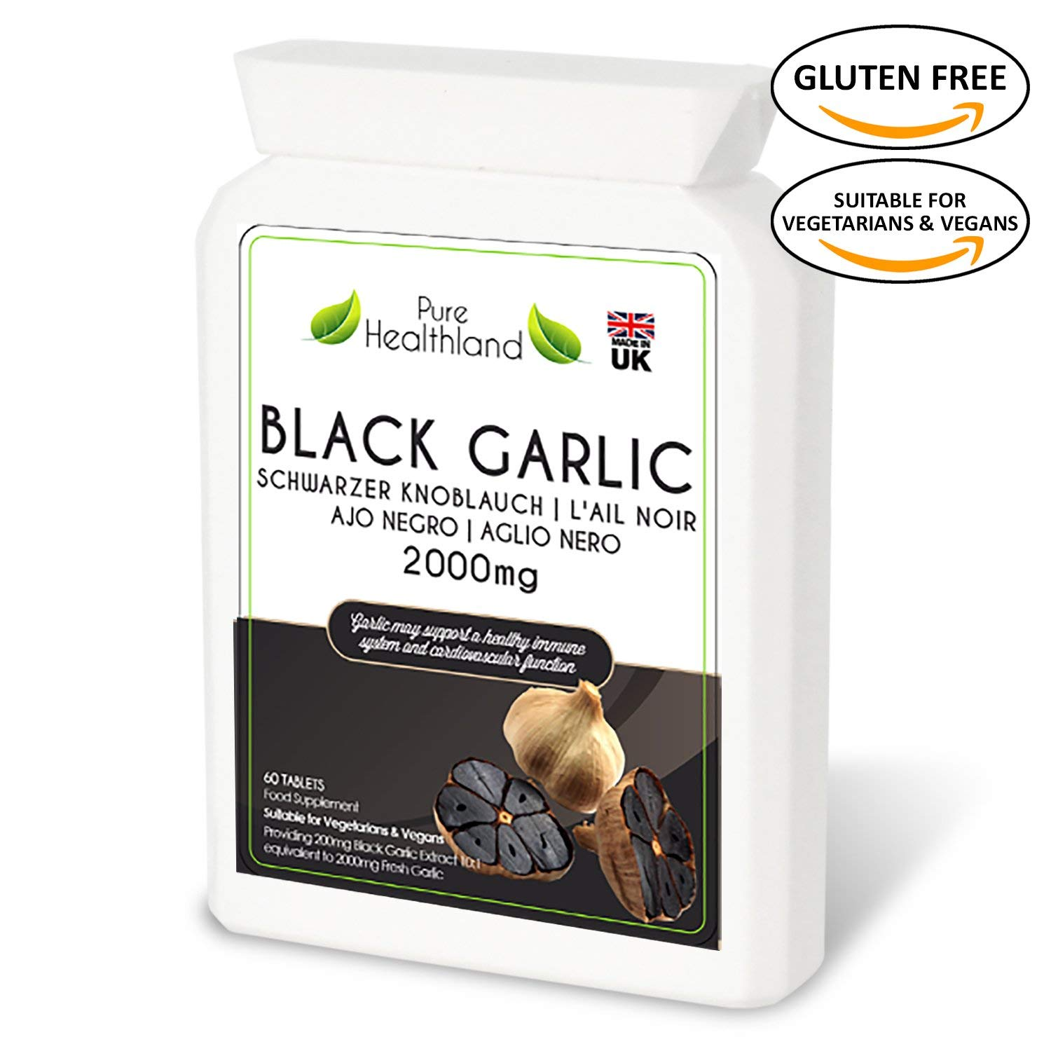 Pure Healthland Black Garlic