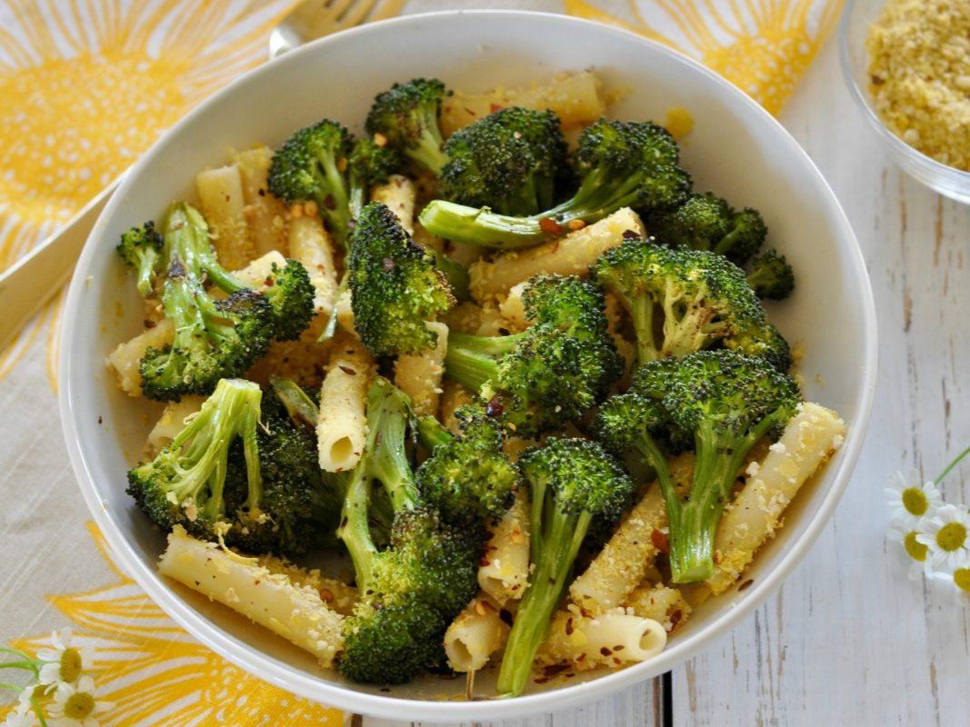 Vegan Spicy Broccoli Pasta With Lemon Breadcrumb