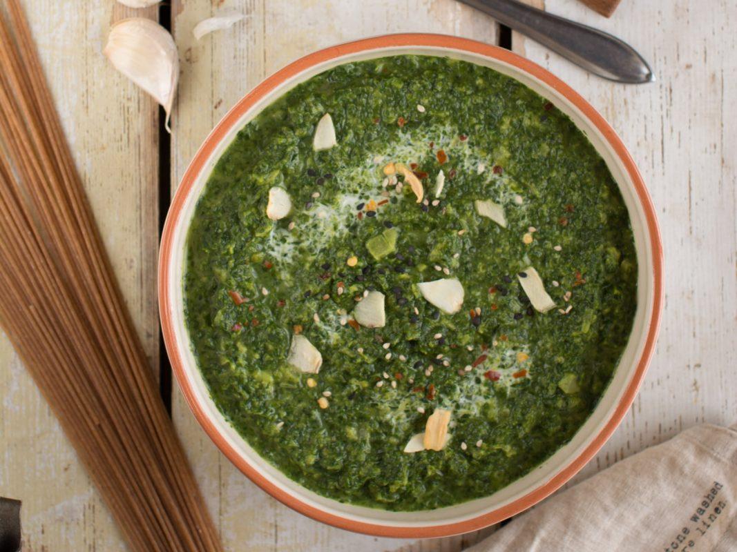 Vegan Creamy Coconut Spinach Dip