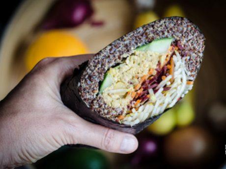 Vegan high-protein Sushi Burrito