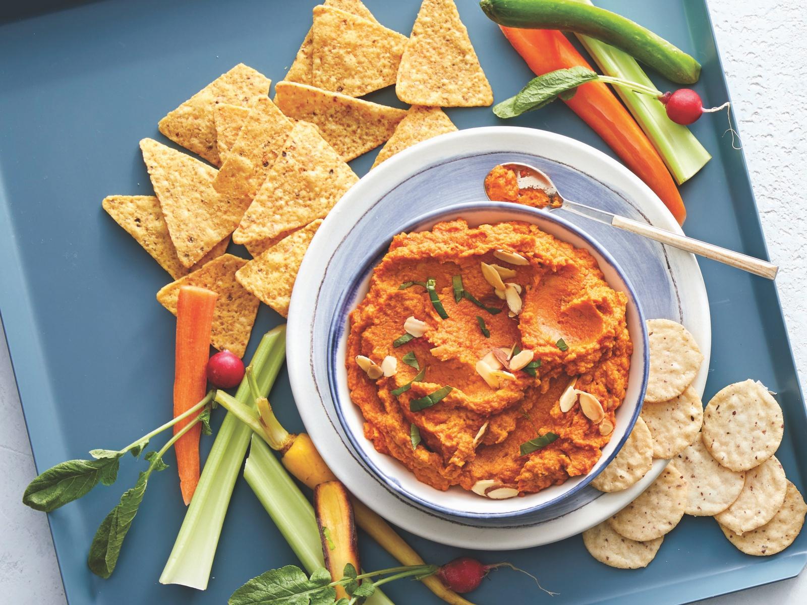 Curry Sweet Potato Dip