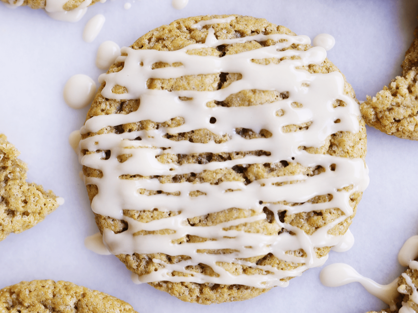 Vegan apple cider cookies