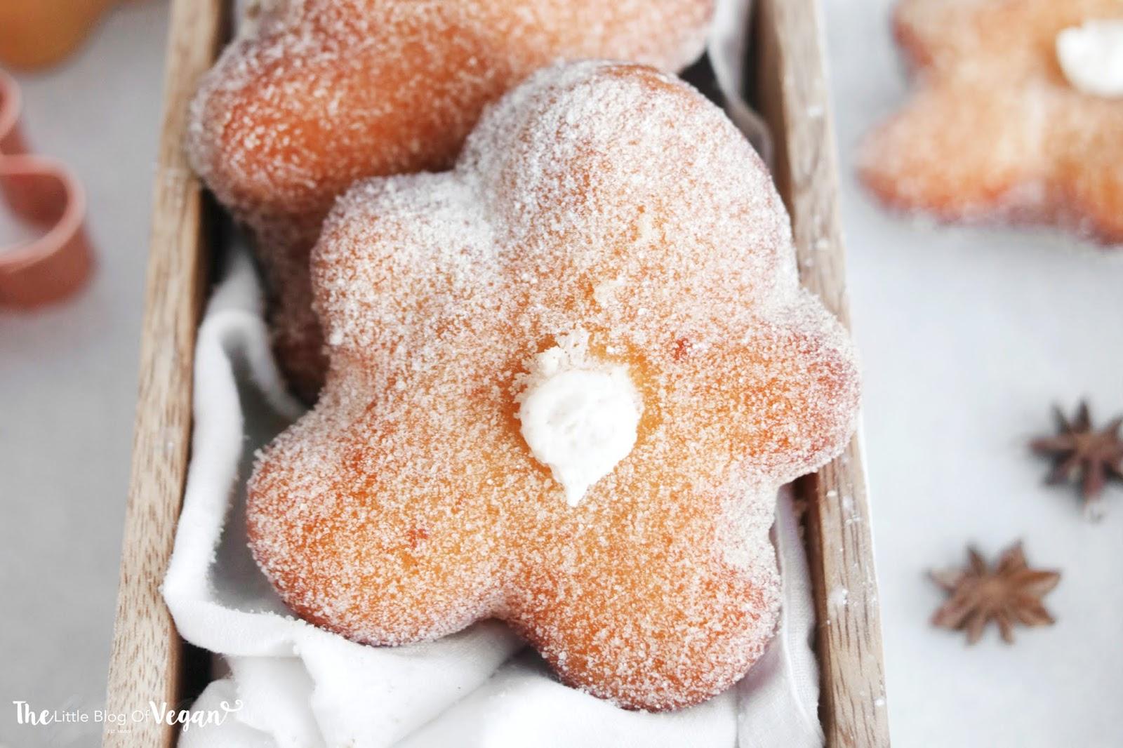 Gingerbread Man Doughnuts [Vegan]