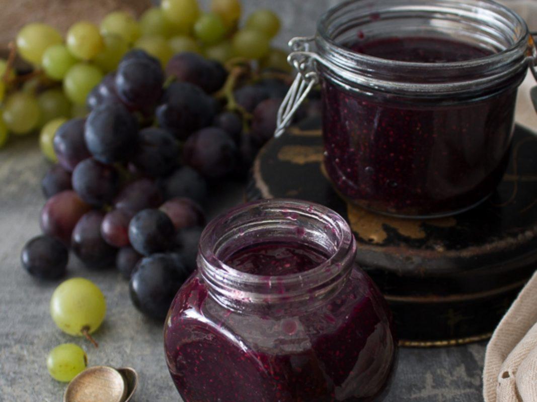 Sugarless grape jelly