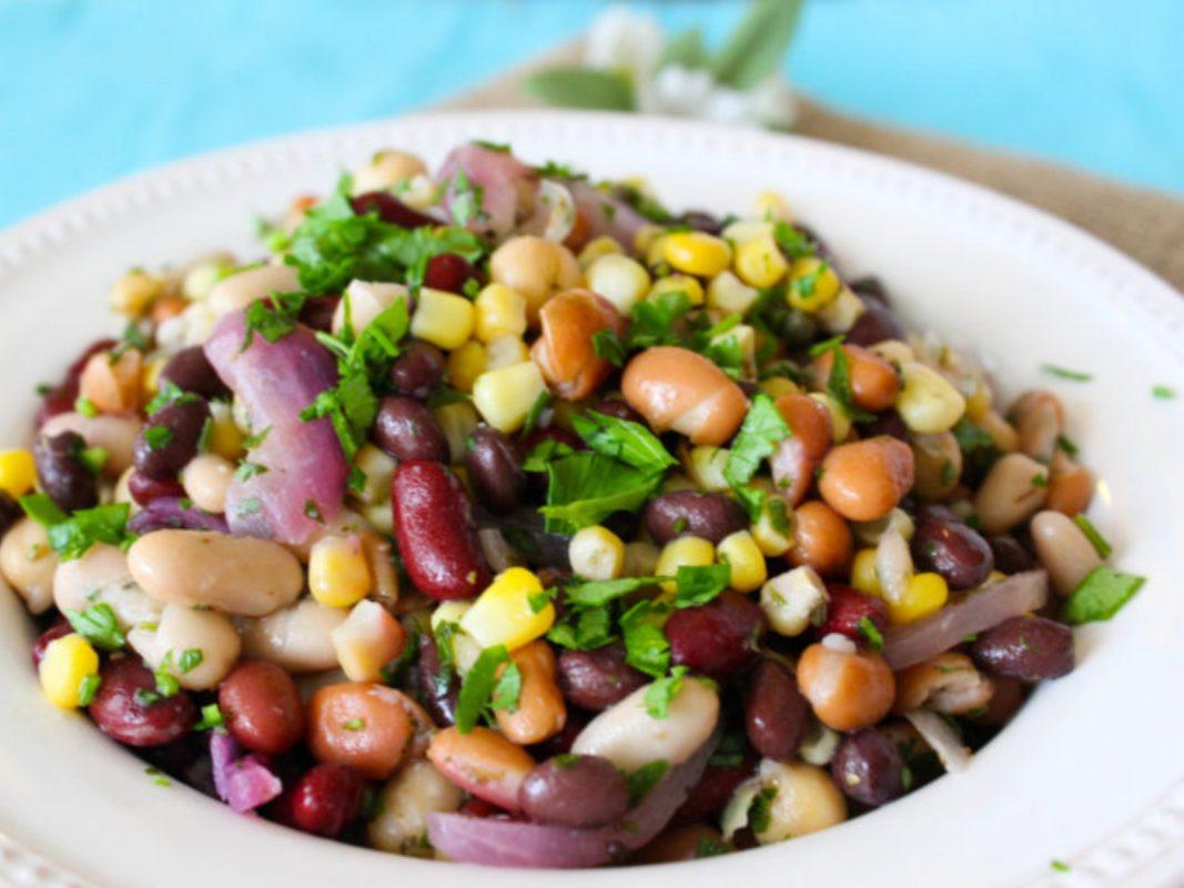 Vegan 5 Bean Salad