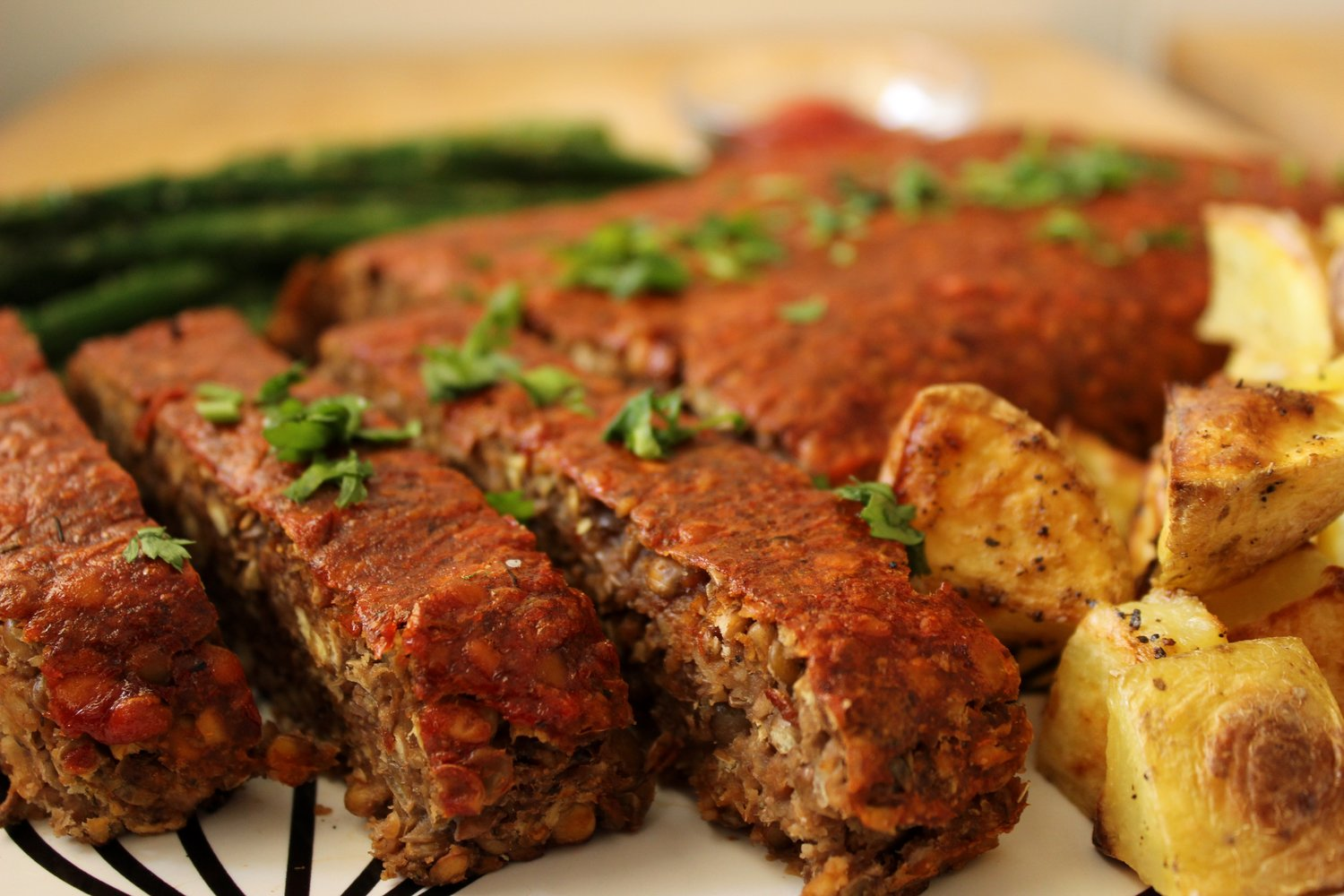 Chestnut and Lentil Loaf