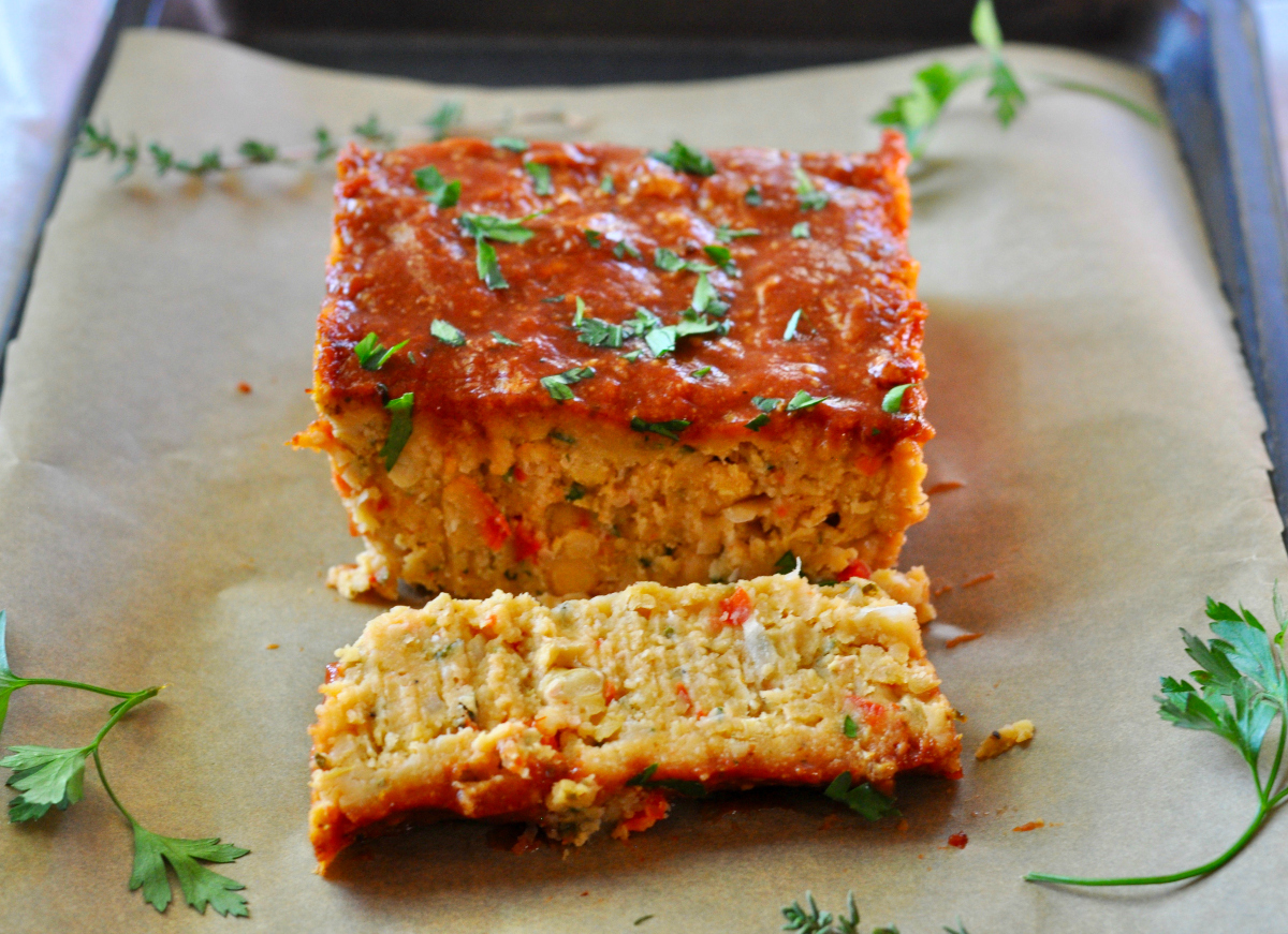 chickpea meatloaf