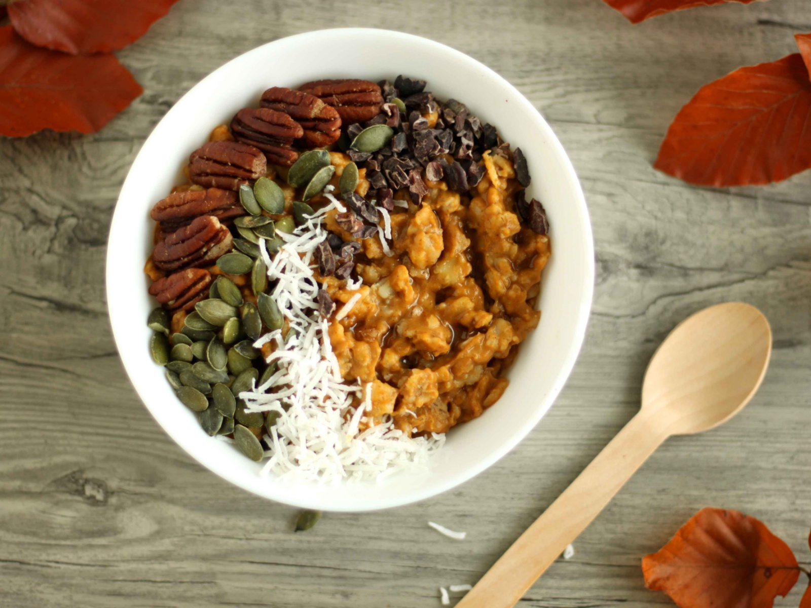 Vegan Perfect Pumpkin Pie Oatmeal