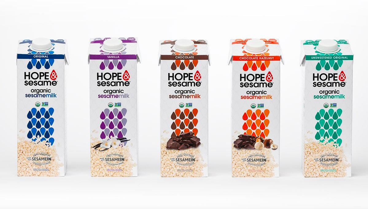 Hope & Sesame Non-Dairy Milks