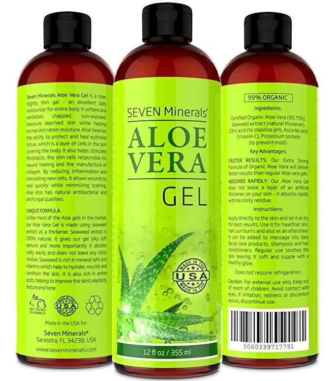 Seven minerals organic gel