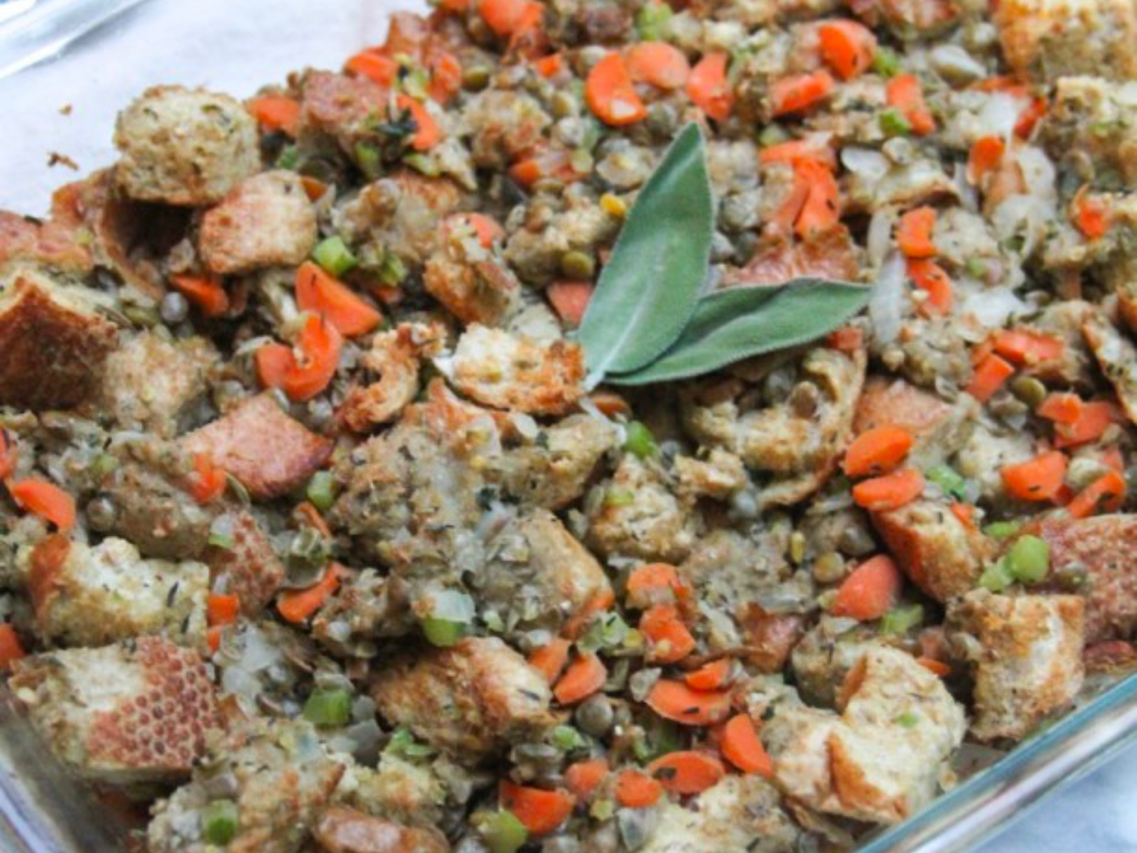 Herb and Lentil Stuffing