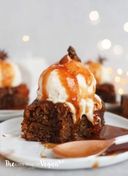 Sticky Toffee Pudding [Vegan]