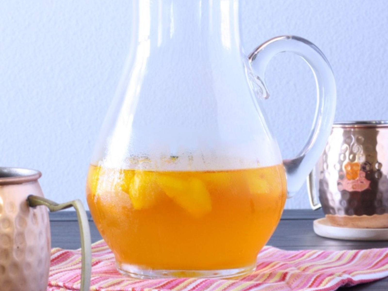 Saffron Pear Iced Tea