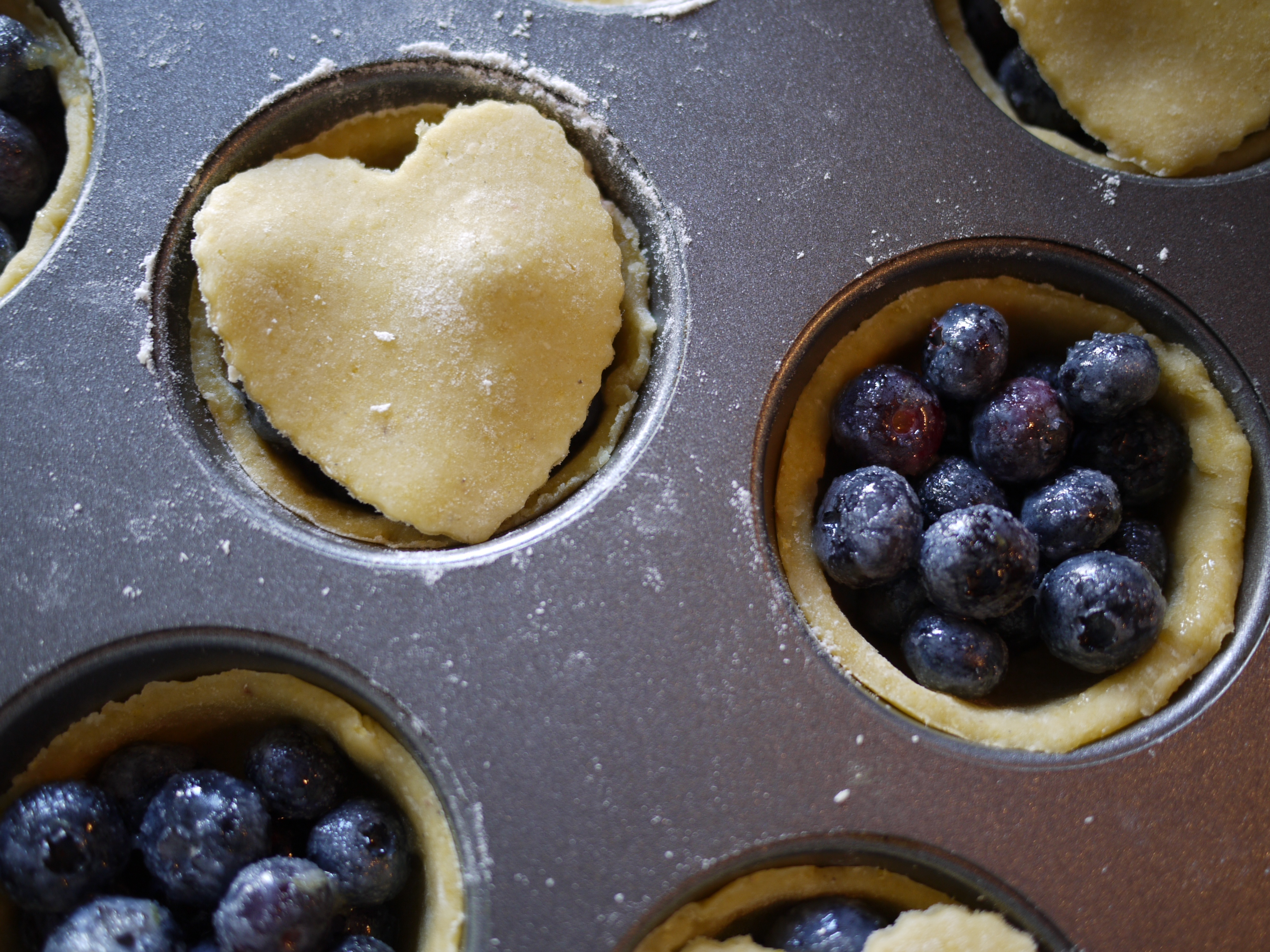 Mini Blueberry Pies