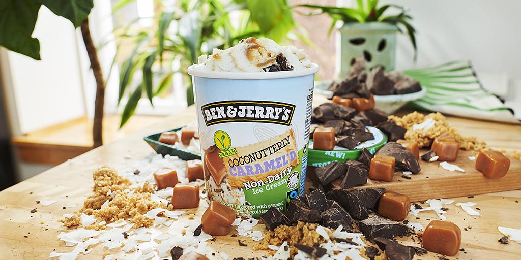 Ben & Jerry's non-dairy ice cream