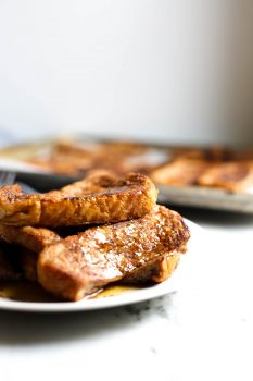 French Toast Sticks [Vegan]