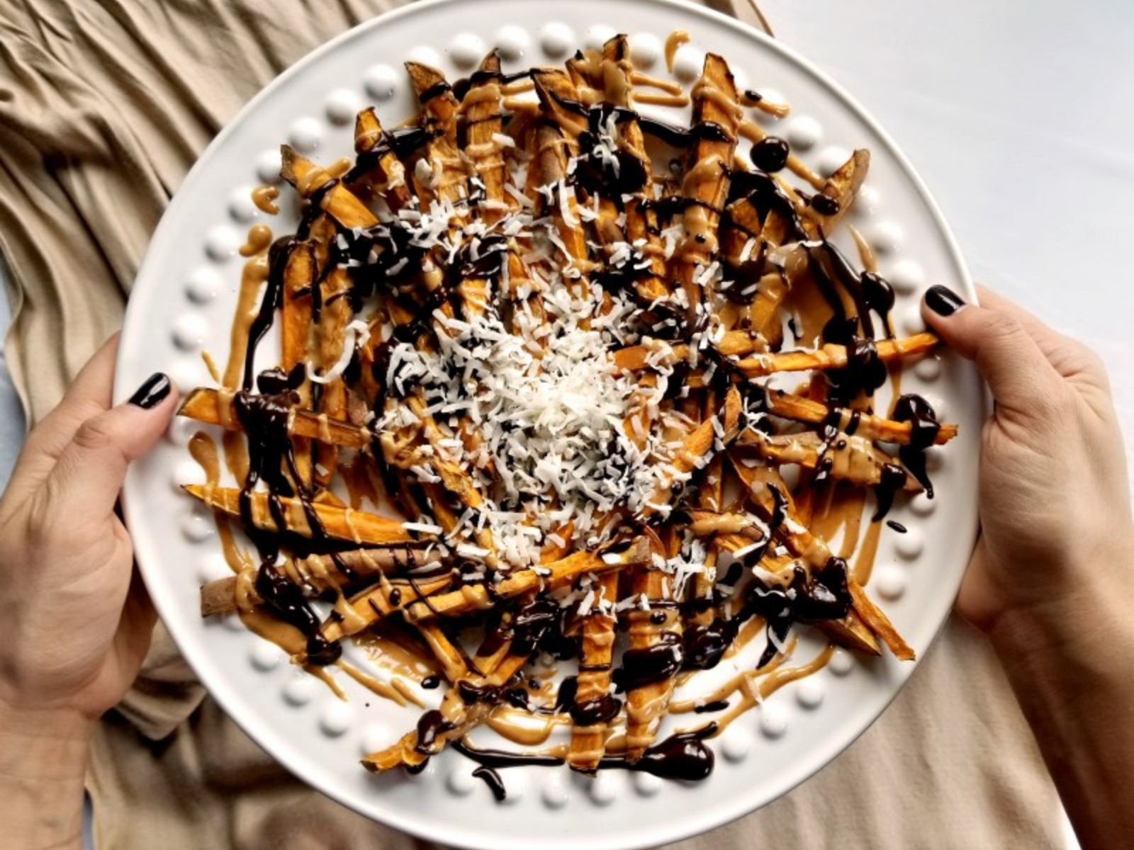 Vegan Dessert Sweet Potato Fries