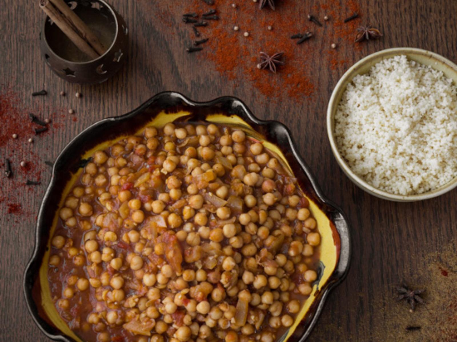 Vegan Moroccan Chickpea Stew