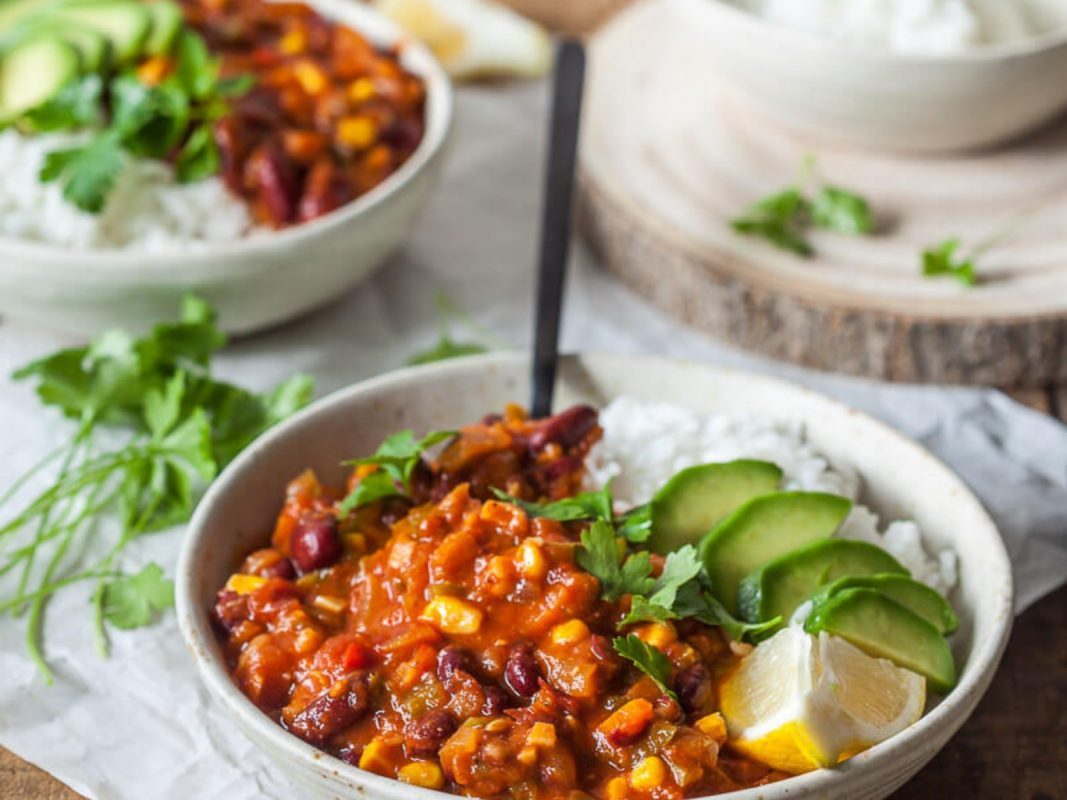 Vegan Spicy Chili
